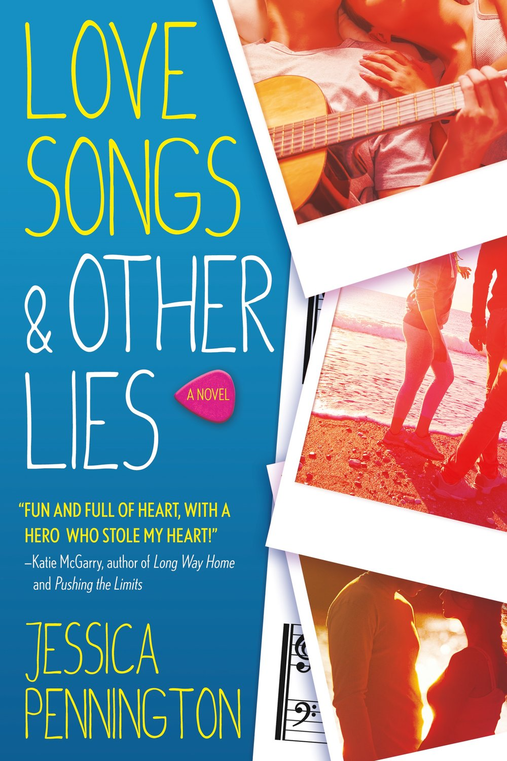 Happy book birthday to LOVE SONGS & OTHER LIES by Jessica Pennington! - Love Songs & Other Lies is the debut romance from Jessica Pennington that Katie McGarry calls