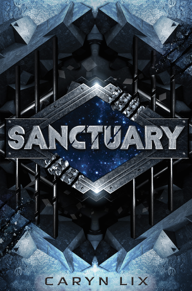 Happy book birthday to SANCTUARY by Caryn Lix! - Alien meets Alexandra Bracken's The Darkest Minds in this thrilling debut novel about prison-guard-in-training, Kenzie, who is taken hostage by the superpowered criminal teens of the Sanctuary space station—only to have to band together with them when the station is attacked by mysterious creatures.Kenzie holds one truth above all: the company is everything.As a citizen of Omnistellar Concepts, the most powerful corporation in the solar system, Kenzie has trained her entire life for one goal: to become an elite guard on Sanctuary, Omnistellar's space prison for superpowered teens too dangerous for Earth. As a junior guard, she's excited to prove herself to her company—and that means sacrificing anything that won't propel her forward.But then a routine drill goes sideways and Kenzie is taken hostage by rioting prisoners.At first, she's confident her commanding officer—who also happens to be her mother—will stop at nothing to secure her freedom. Yet it soon becomes clear that her mother is more concerned with sticking to Omnistellar protocol than she is with getting Kenzie out safely.As Kenzie forms her own plan to escape, she doesn't realize there's a more sinister threat looming, something ancient and evil that has clawed its way into Sanctuary from the vacuum of space. And Kenzie might have to team up with her captors to survive—all while beginning to suspect there's a darker side to the Omnistellar she knows.