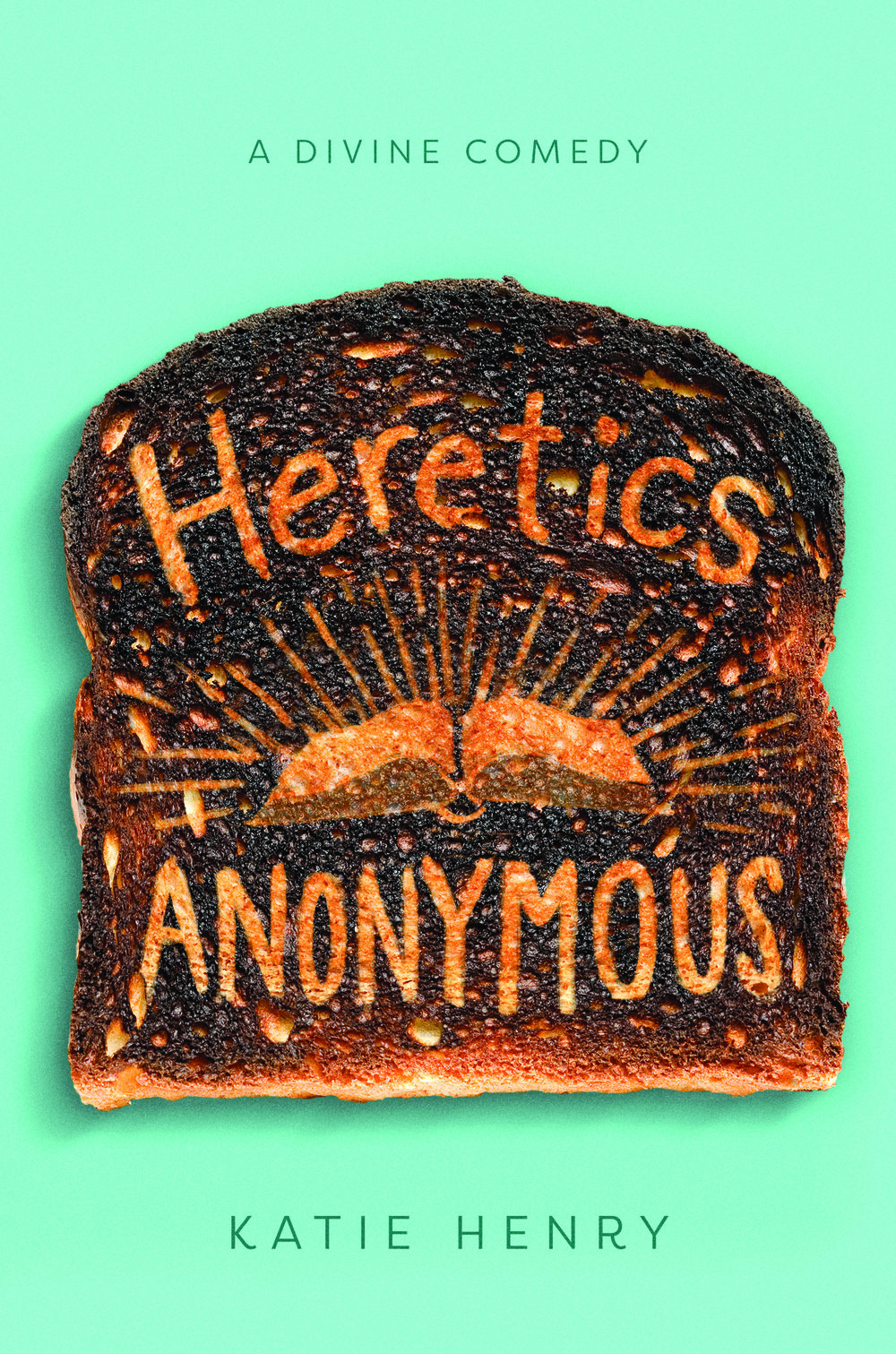Happy book birthday to HERETICS ANONYMOUS by Katie Henry! - Put an atheist in a strict Catholic school? Expect comedy, chaos, and an Inquisition. The Breakfast Club meets Saved! in debut author Katie Henry's hilarious novel about a band of misfits who set out to challenge their school, one nun at a time. Perfect for fans of Becky Albertalli and Robyn Schneider.When Michael walks through the doors of Catholic school, things can't get much worse. His dad has just made the family move again, and Michael needs a friend. When a girl challenges their teacher in class, Michael thinks he might have found one, and a fellow atheist at that. Only this girl, Lucy, isn't just Catholic . . . she wants to be a priest.Lucy introduces Michael to other St. Clare's outcasts, and he officially joins Heretics Anonymous, where he can be an atheist, Lucy can be an outspoken feminist, Avi can be Jewish and gay, Max can wear whatever he wants, and Eden can practice paganism.Michael encourages the Heretics to go from secret society to rebels intent on exposing the school's hypocrisies one stunt at a time. But when Michael takes one mission too far—putting the other Heretics at risk—he must decide whether to fight for his own freedom or rely on faith, whatever that means, in God, his friends, or himself.