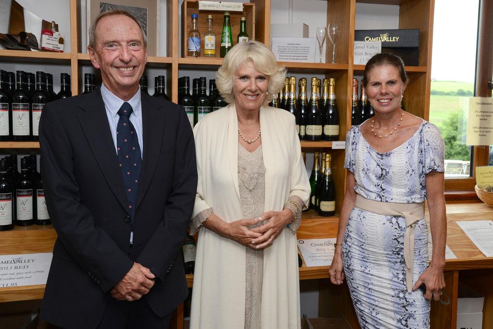 Bob, Annie and the Duchess of Cornwall.jpg