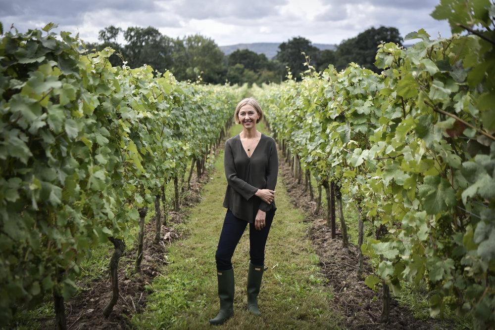Cherie Spriggs, Head Winemaker of Nyetimber in the Nyetimber vineyards.jpg