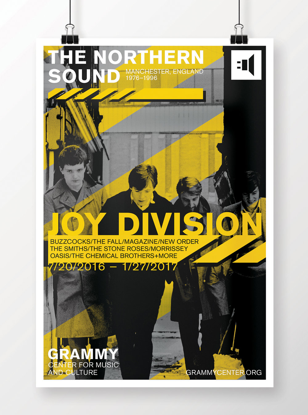 Joy Division are one of the must influential indie rock and post-punk bands of all time and helped cement Manchester's legacy as a musical mecca.