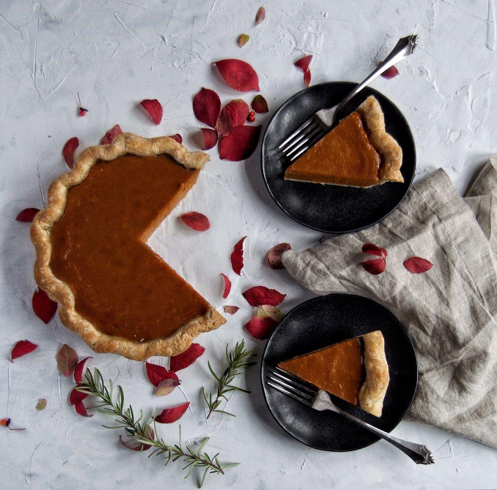 Honey Brown Butter Sweet Potato Pie Recipe | thymeforbreakfast.com