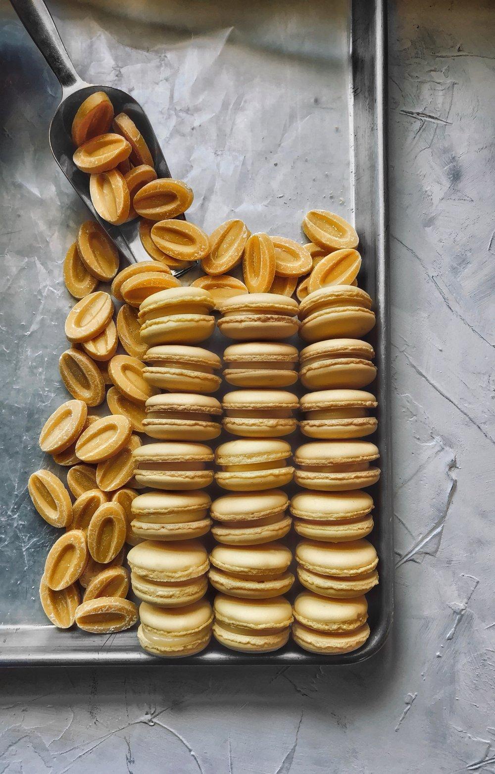 Passionfruit Macarons Recipe | thymeforbreakfast.com.jpg