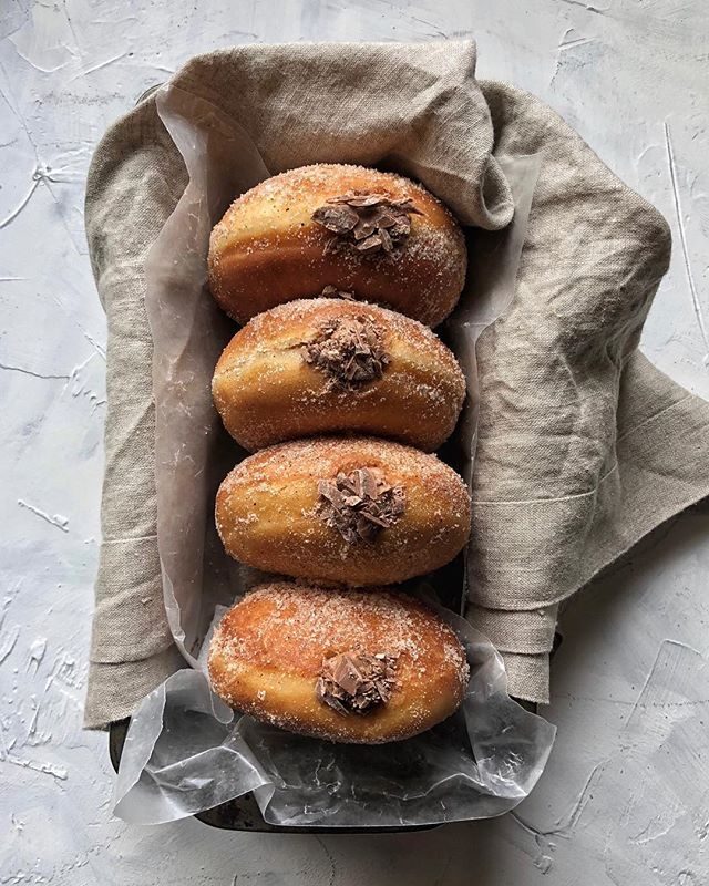 a fresh batch of these smoky mexican hot chocolate donuts is waiting for you on the blog...you've been warned  #treatyoself #linkinprofile
