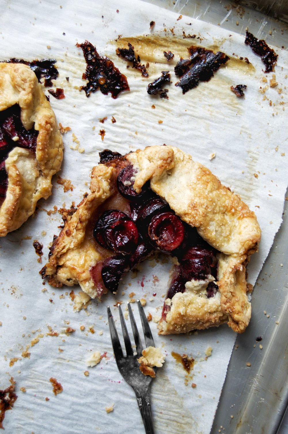 Rustic Cherry Galettes   thymeforbreakfast.com.jpg