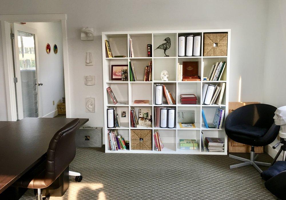 The adults' studio