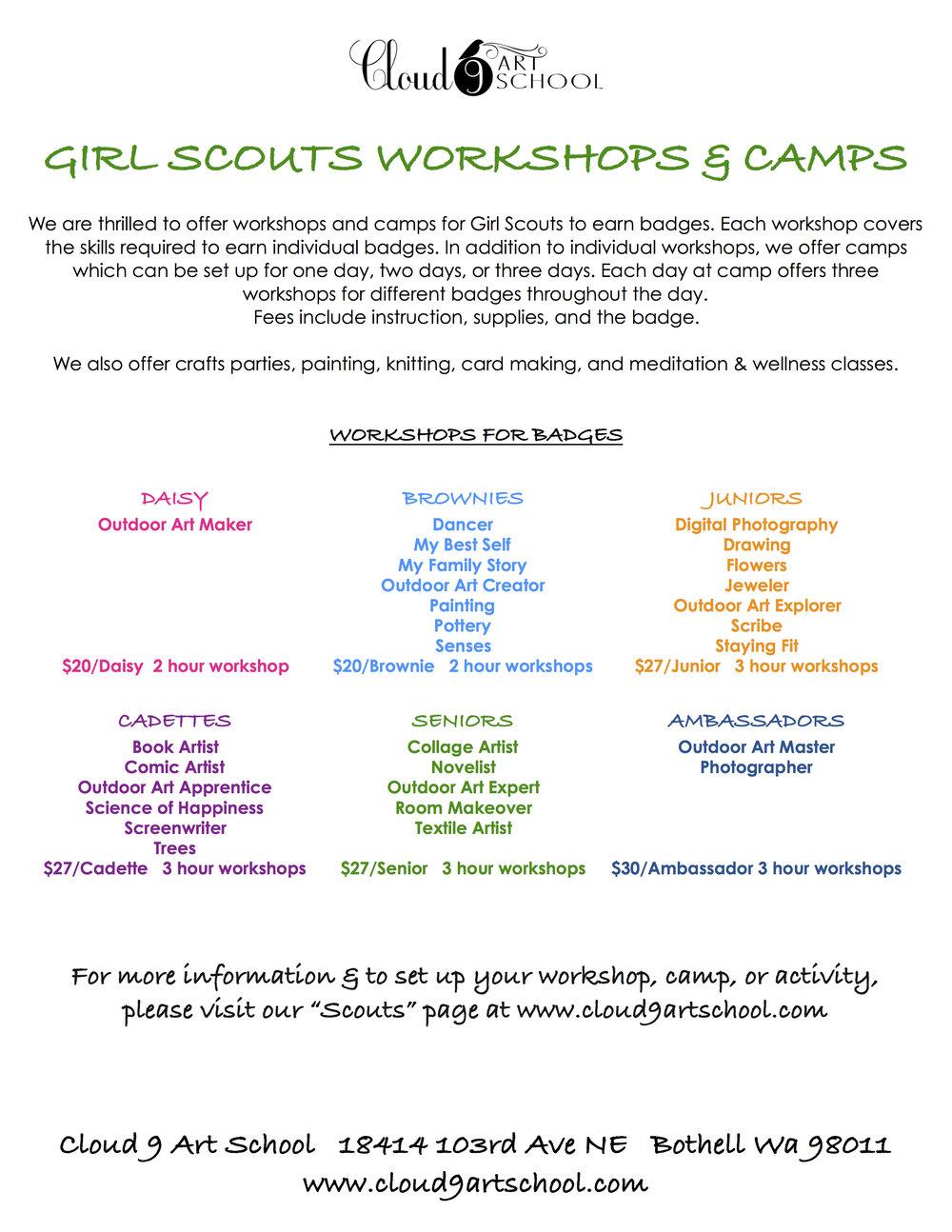 Girl scouts workshops camps classes cloud 9 girl scoutsg izmirmasajfo
