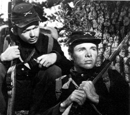Bill Maulden and Audie Murphy in  The Red Badge of Courage  (1951)