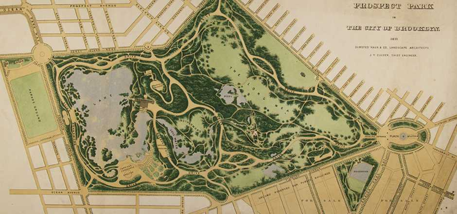 Plan for Prospect Park, Brooklyn