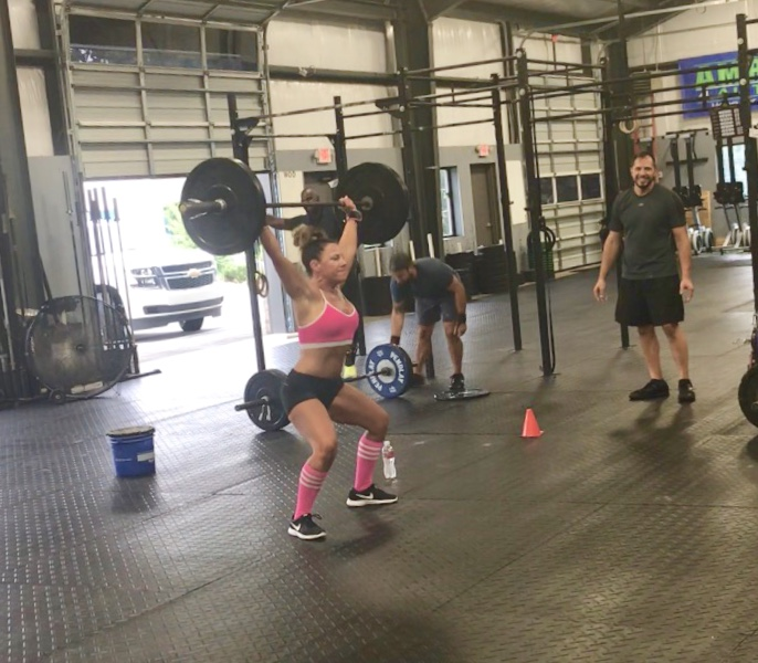 Holly Tidwell, Member, CrossFit S3