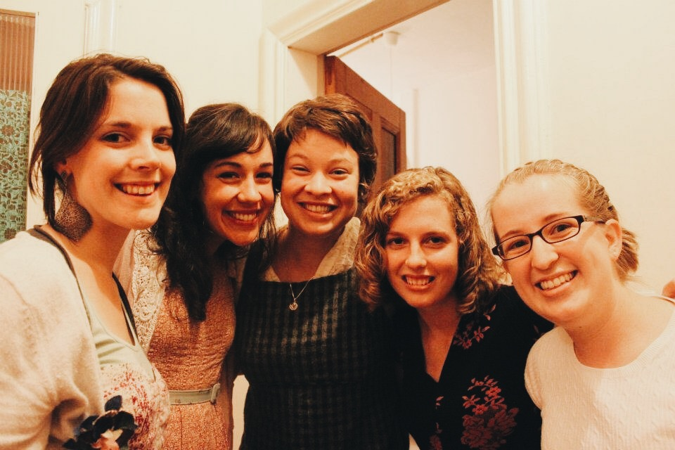 2011. My bridesmaids and I, the week before my wedding. Now they are all long distance friendships!