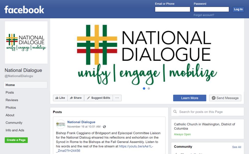 Follow us on Facebook -