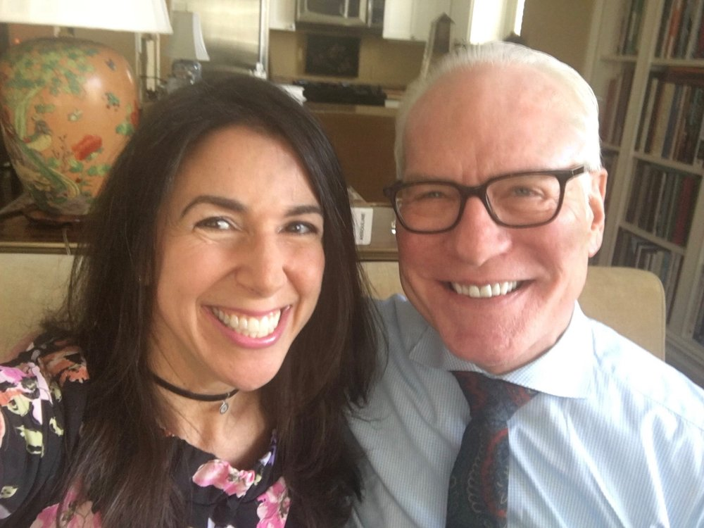 Tim Gunn and Kara Mayer Robinson.JPG