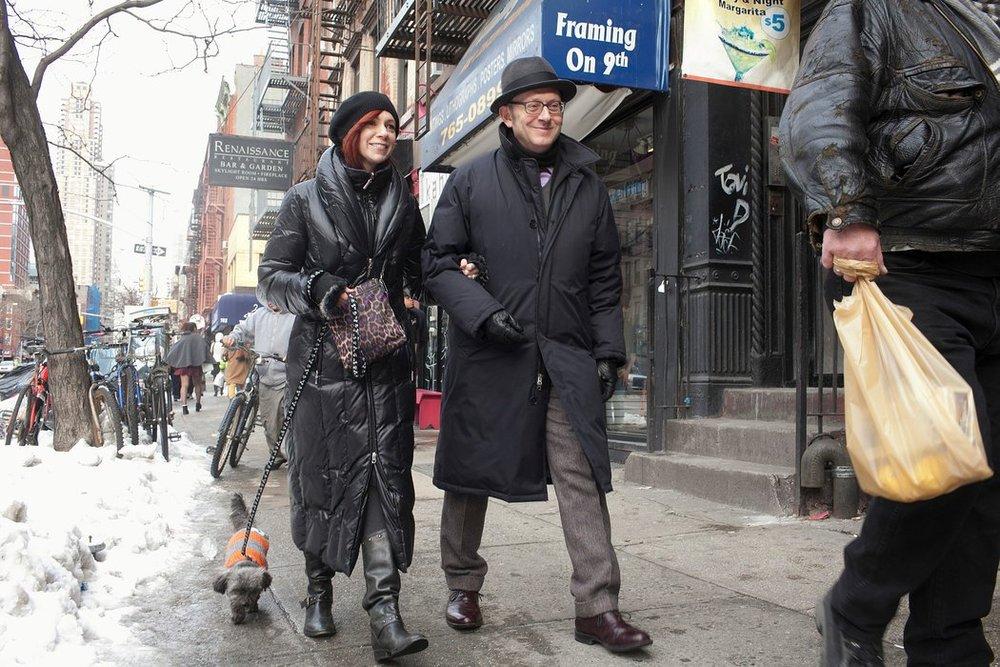 Carrie Preston and Michael Emerson