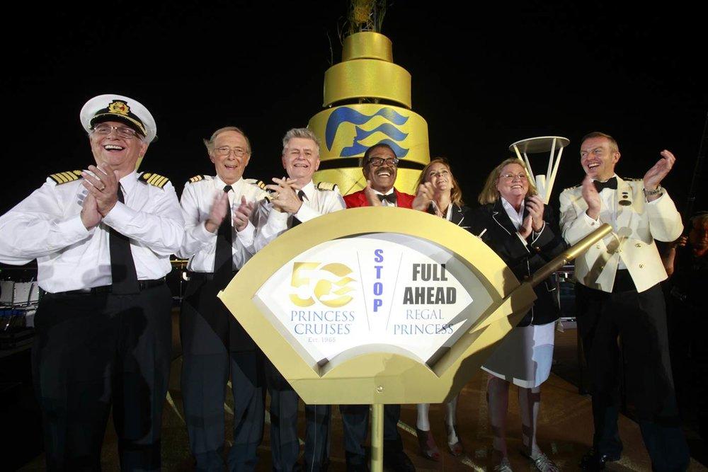 Princess Cruises - Regal Princess christening, November 2014