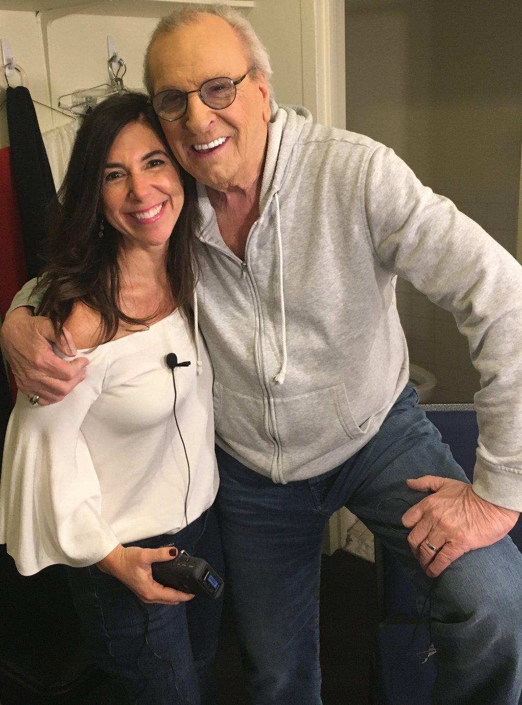 Danny Aiello and Kara Mayer Robinson.JPG