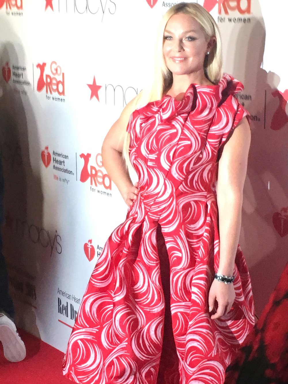 Elisabeth Rohm red carpet.JPG