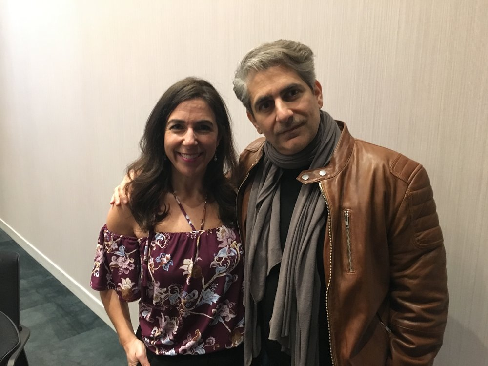 Kara and Michael Imperioli.JPG