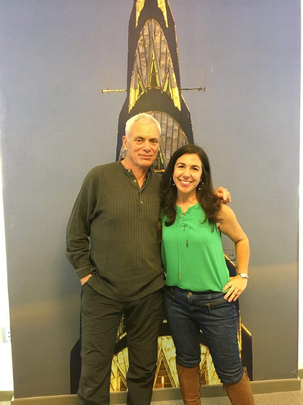 Jeremy Wade and Kara - Chrysler Building.JPG