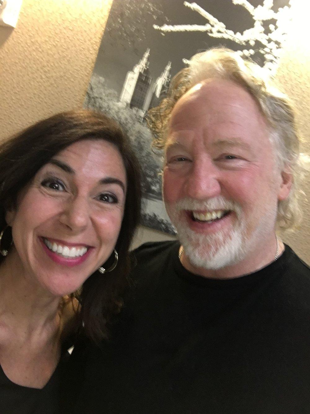 Kara and Tim Busfield FUN.JPG
