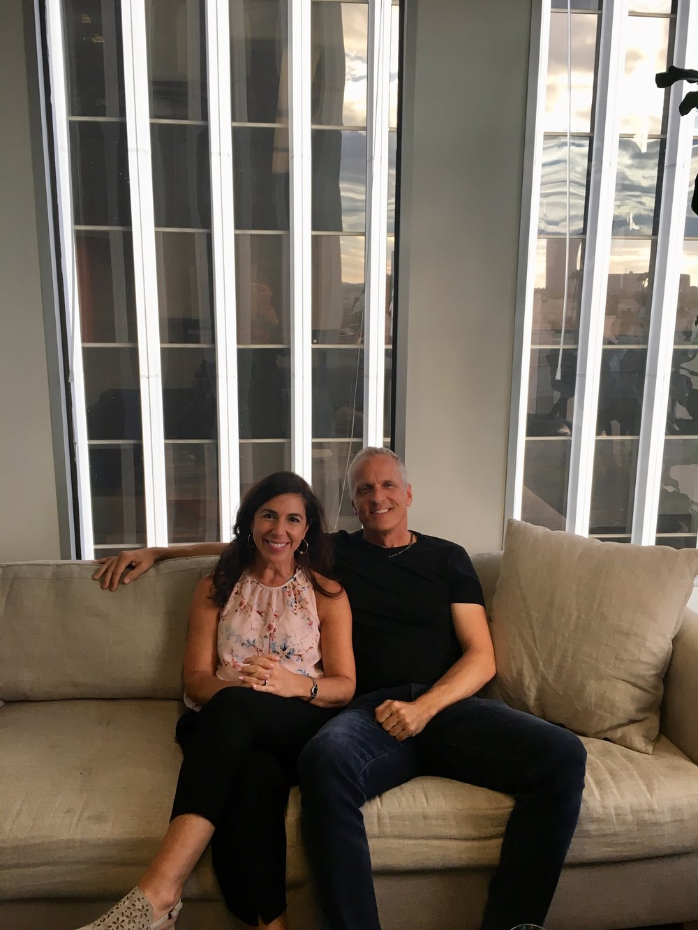 Patrick Fabian and Kara SIT SMILE.jpg