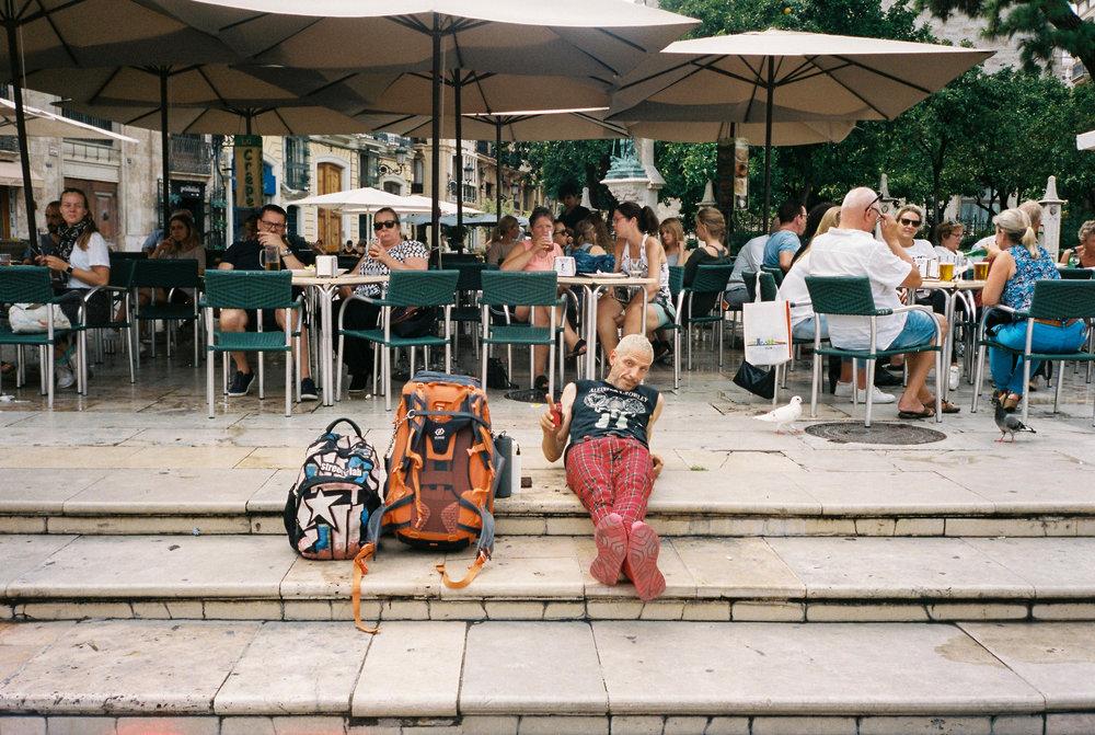 Camera:  Olympus mju II  Film:  Kodak Portra 400