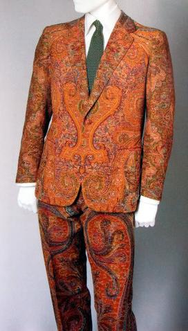 Paisley Print suit
