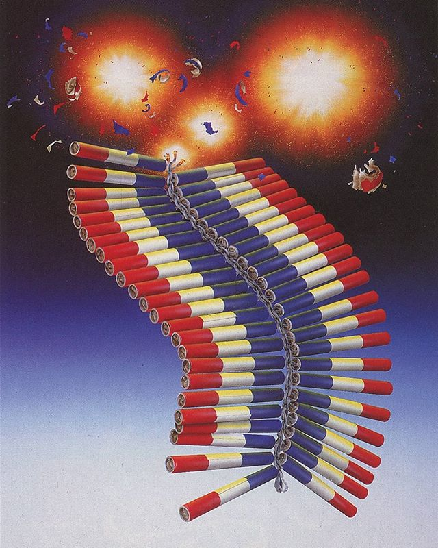 Michael Kozmiuk 1993  #90s #Design #Airbrush #Scan