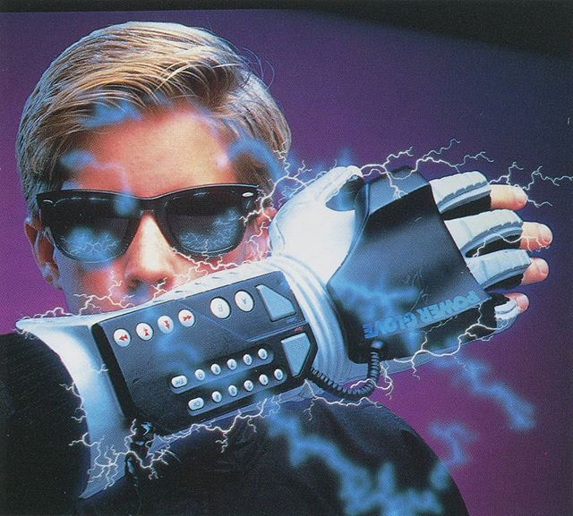 Ken Rubin 1994  #90s #Design #Airbrush #PowerGlove #Scan