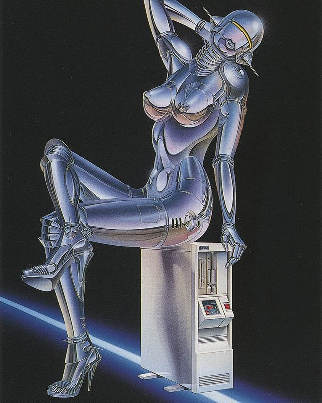 Ole Christensen 1989  #80s #Design #Airbrush #Scan