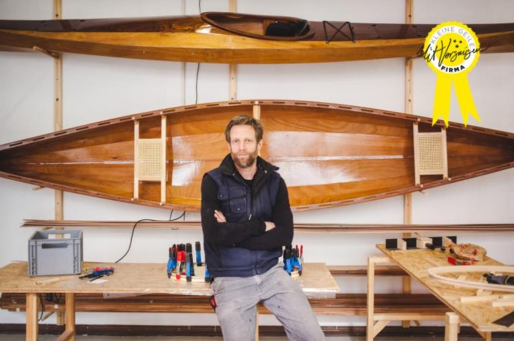 Mit Vergnügen - Interview & Video: Wie ist es, sein Hobby zum Beruf zu machen? – Bootsbauer Lutz von Berger Boote