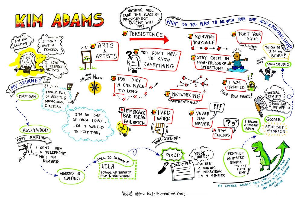Portland Creative Conference 2017 - Speaker: Kim Adams