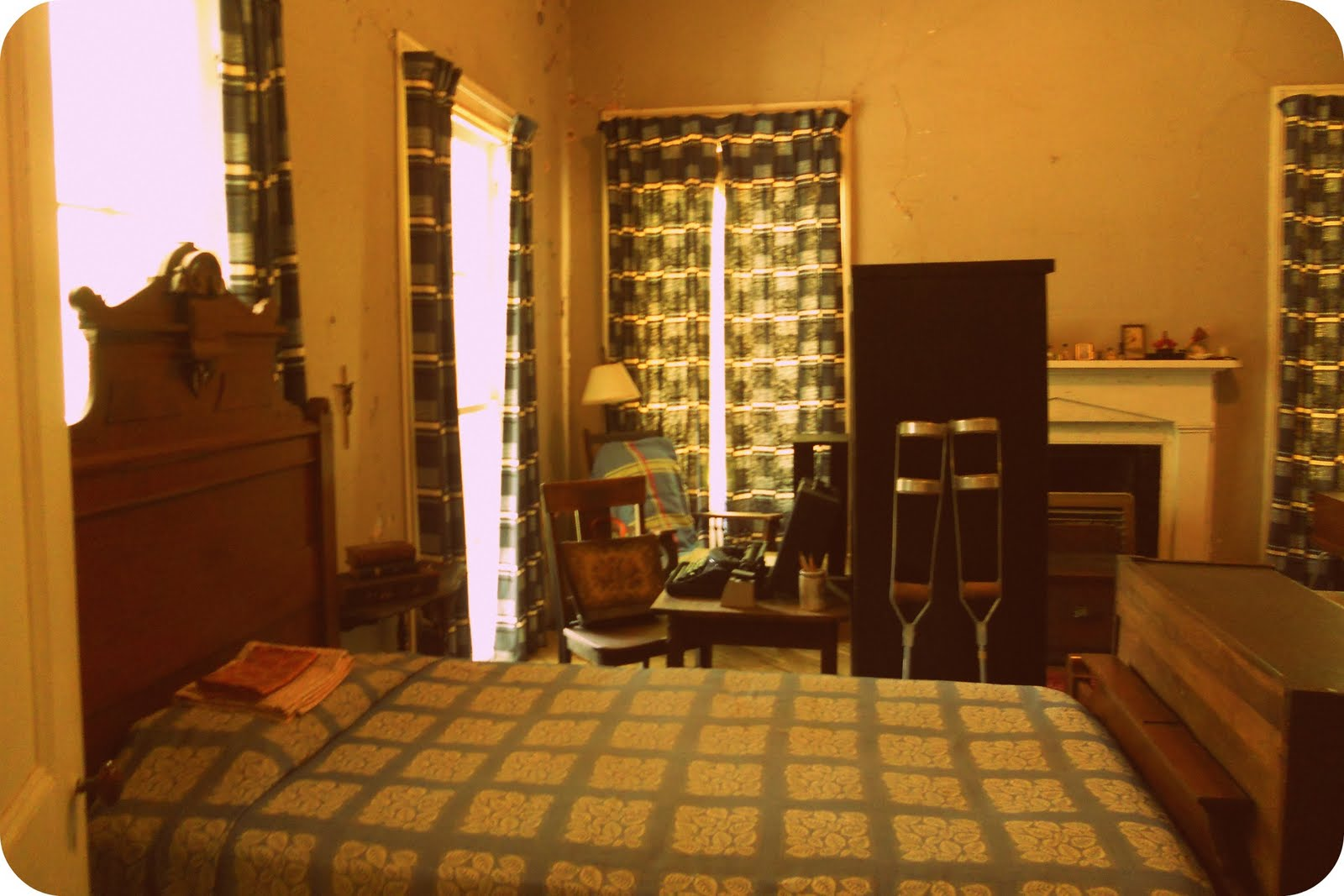 O'Connor's bedroom