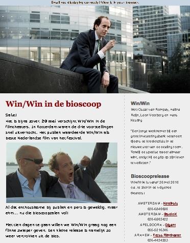 win-win in de bioscoop 20 mei nieuwsbrief