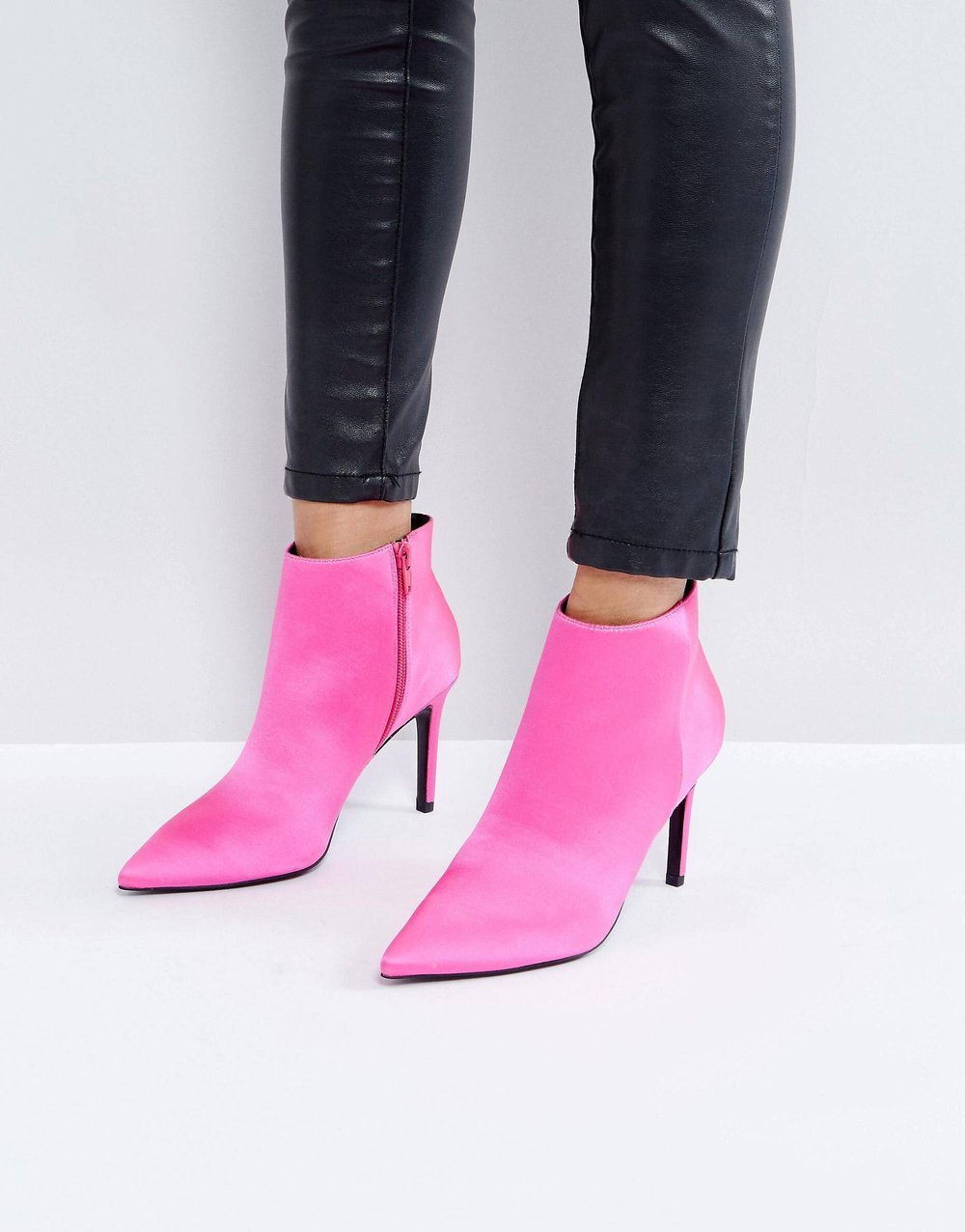 Hot Pink Heeled Booties - Ok, so maybe these aren't your