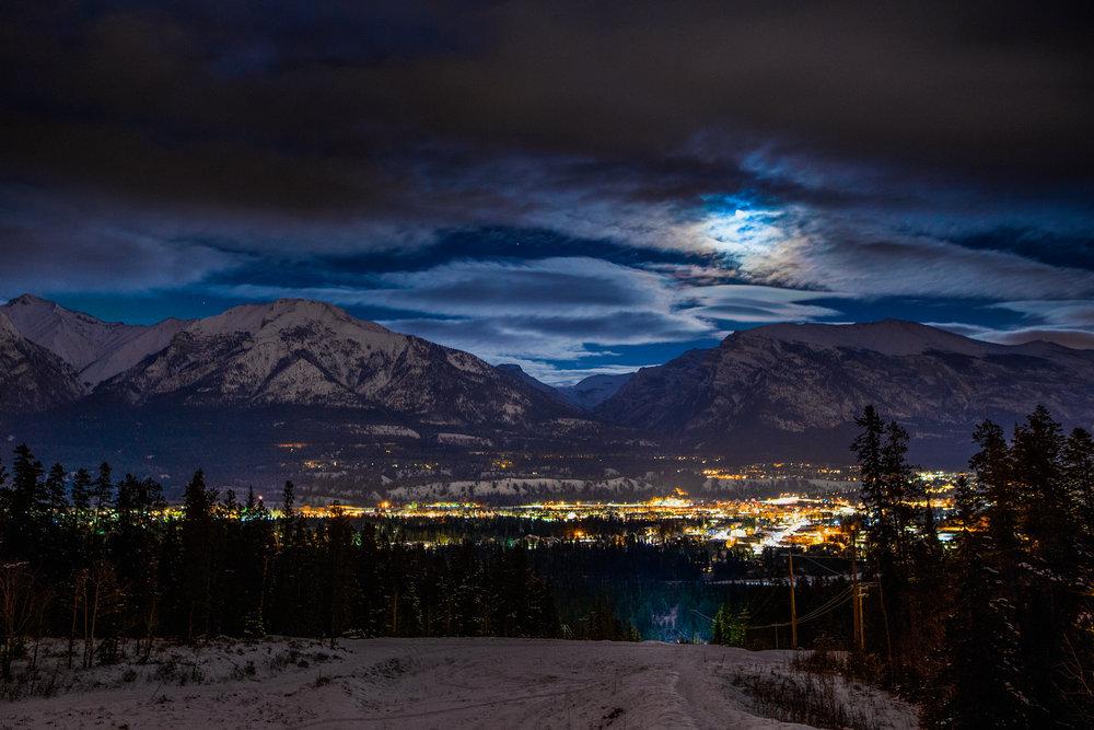 Mountains. -