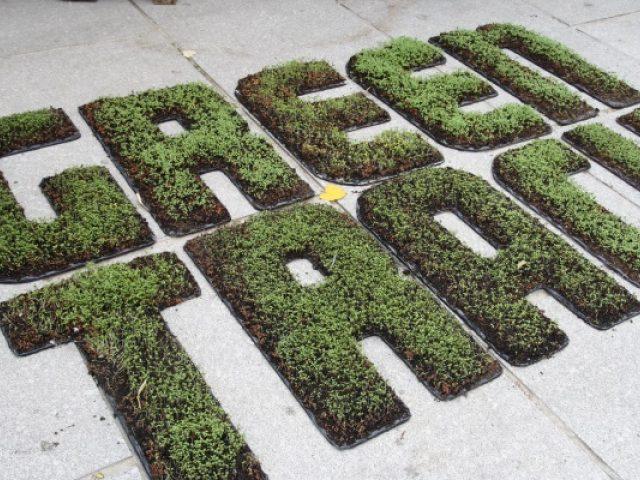 Greentrack in tuinkers, door Handelsbeurs
