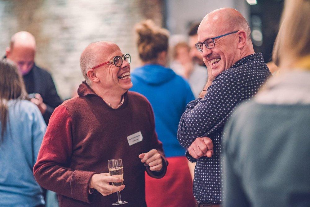 Steven Demesmaeker en Dirk Bocken ©Joachim De Wilde