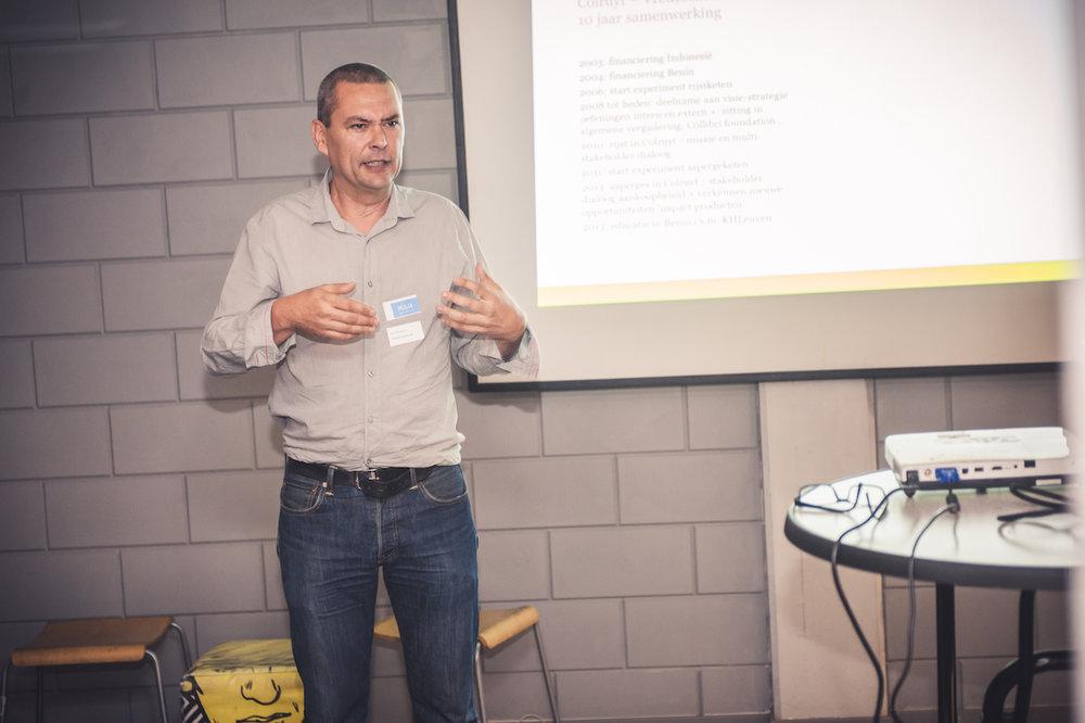 Jan Wyckaert (Rikolto)(Trefdag 2013)