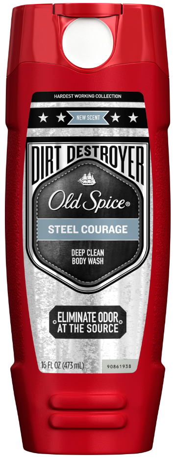 Old Spice Hardest Working Collection Body Wash Dirt Destroyer Steel Courage.PNG