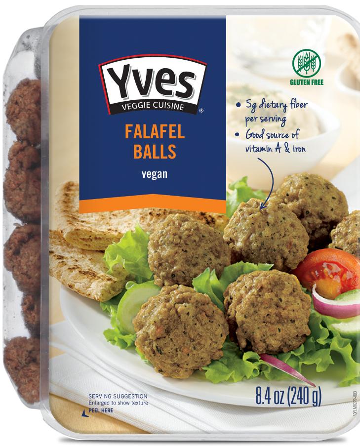 Yves Veggie Cuisine Appetizers - Falafel Balls and Kale & Quinoa Bites.PNG