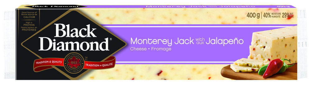 Black Diamond Monterey Jack with Jalapeno Natural Cheese Bar