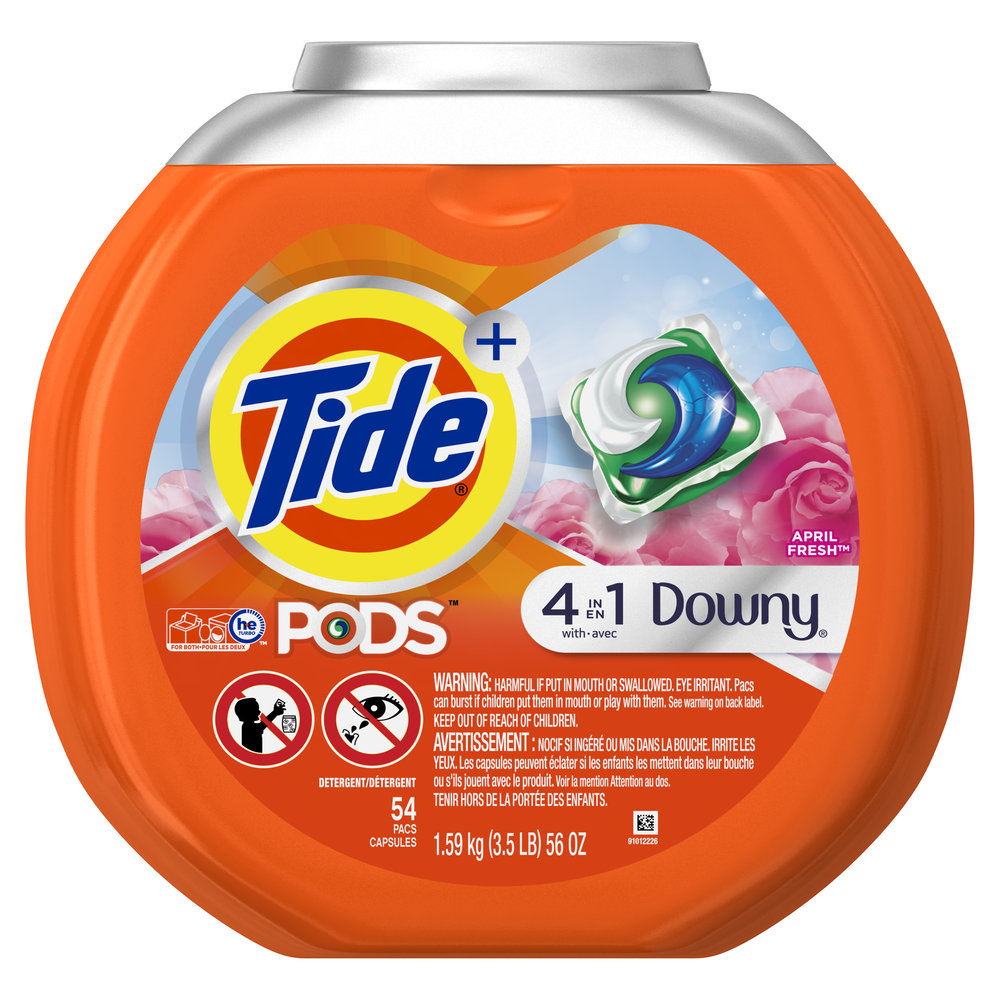 Tide PODS Plus Downy