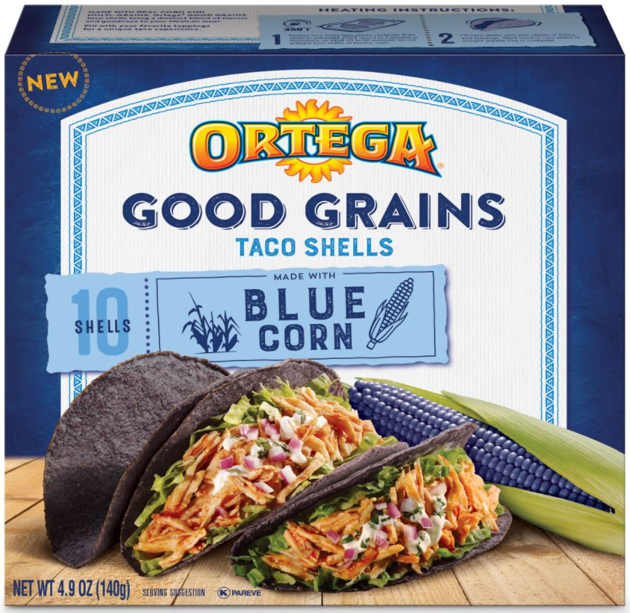 Ortega Good Grains Taco Shells