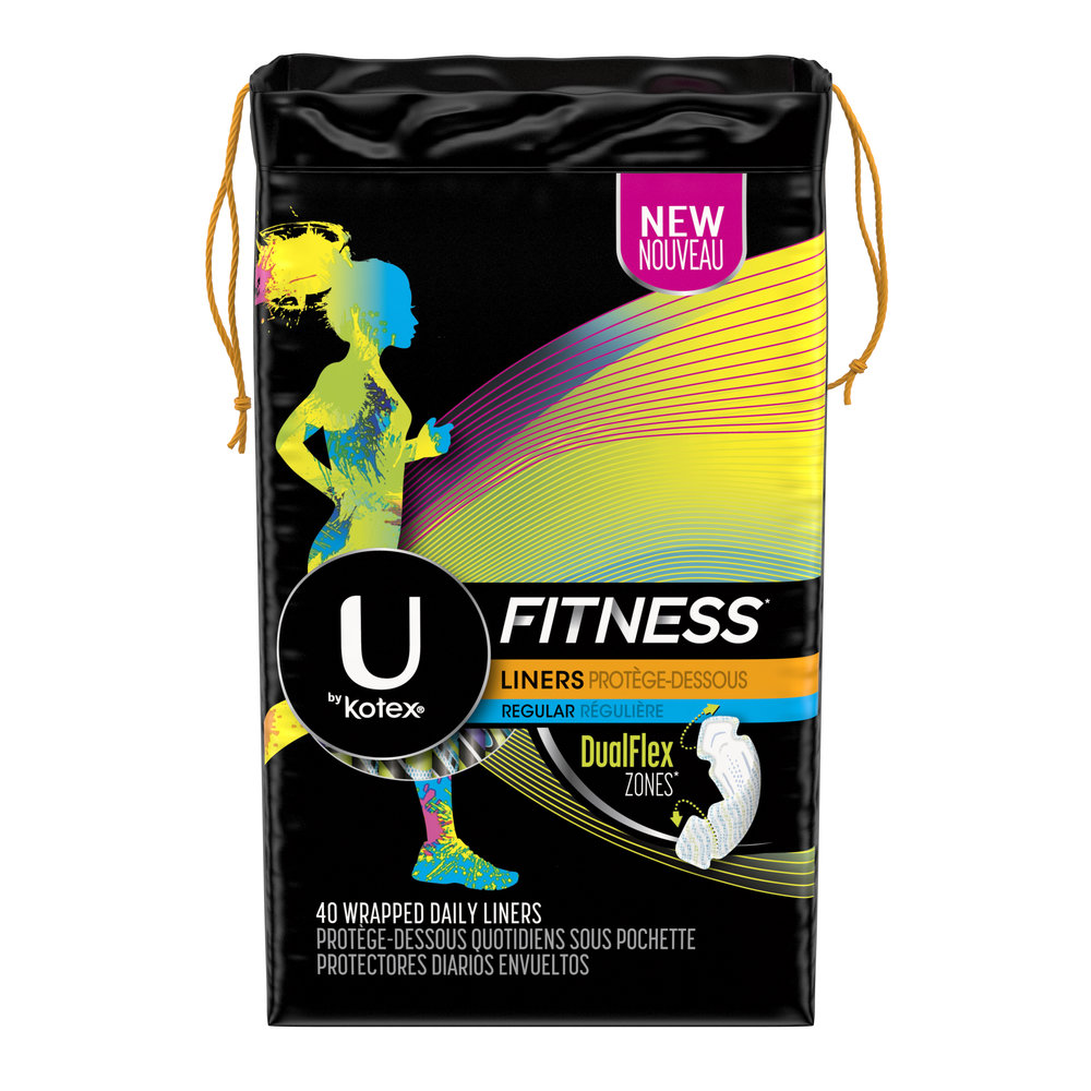 U by Kotex Fitness Liners