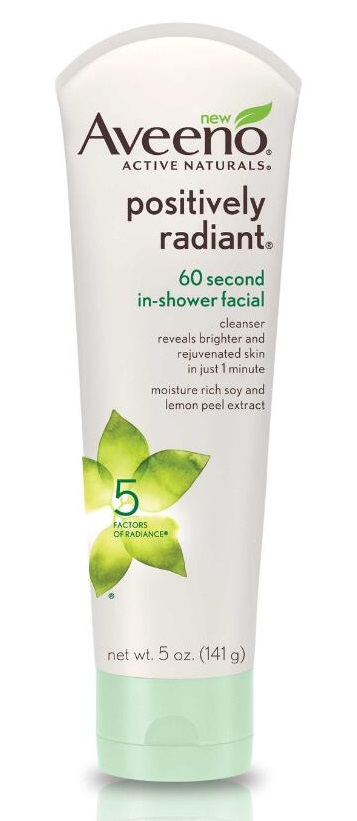 AVEENO Positively Radiant 60 Second In-Shower Facial
