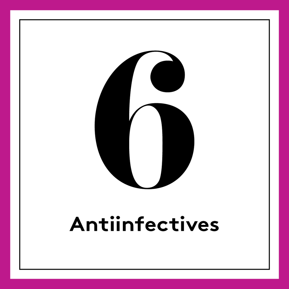 [english] 6. Antiinfectives