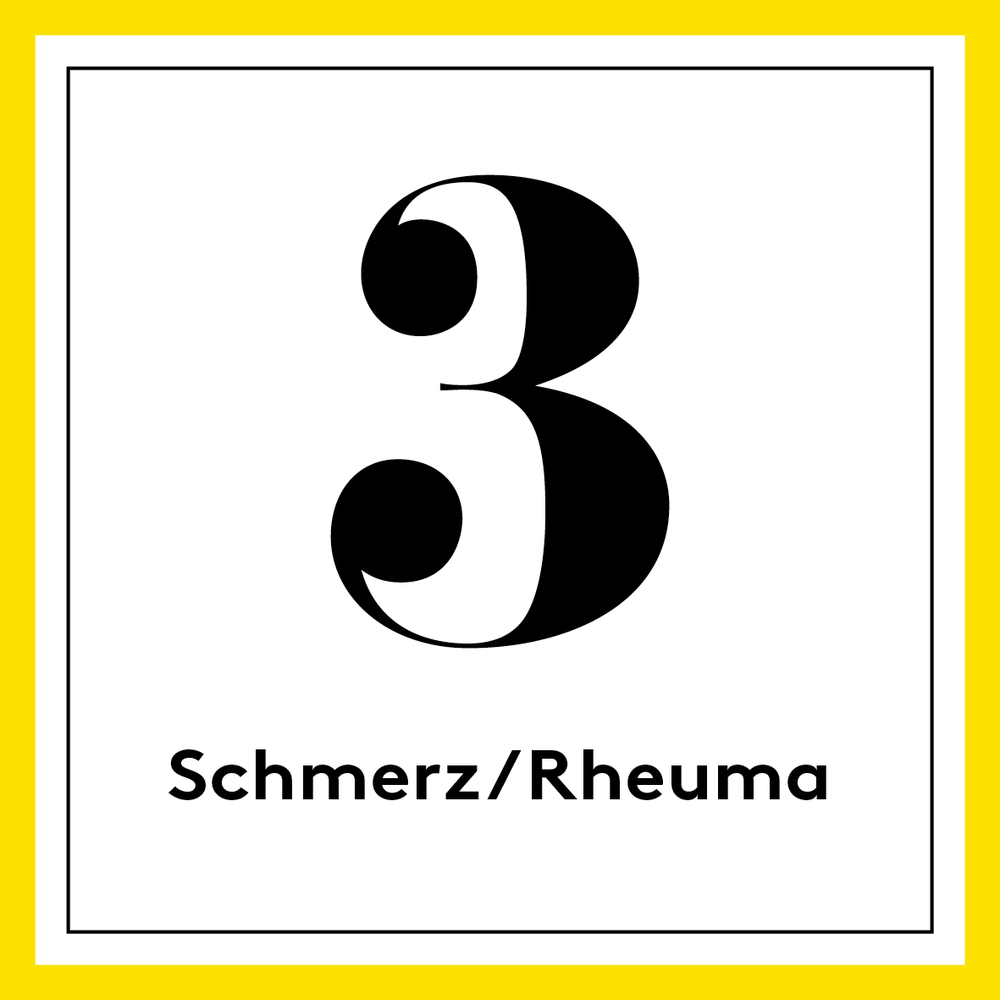 [german] 3. Gelb – Schmerz/Rheuma/Osteoporose