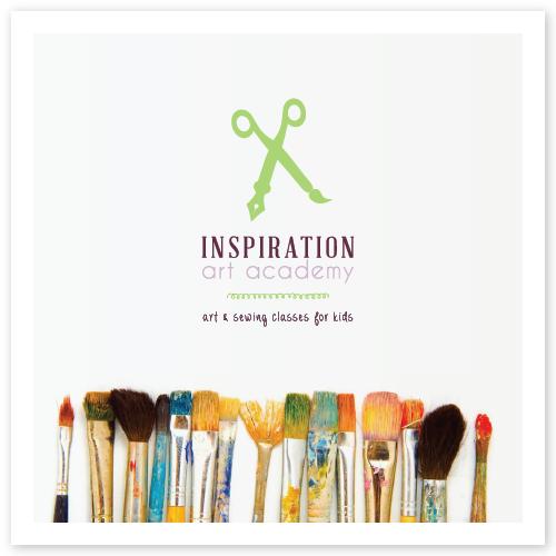 Inspiration Art Academy Brand Board